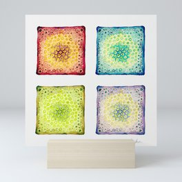 Under the Scope - Diatoms Mini Art Print