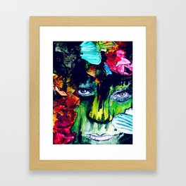 Two Tickets to Paradise Framed Art Print