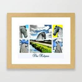 The Kelpies At The Millenium Link Framed Art Print