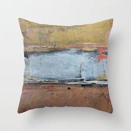 Silver Line Throw Pillow