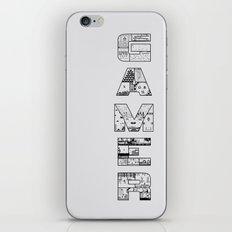 Gamer 2 iPhone & iPod Skin