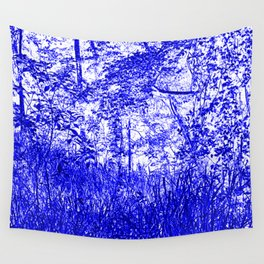 The Blue Forest Wall Tapestry