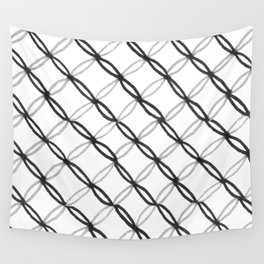 Leafy Grate Pattern Wall Tapestry
