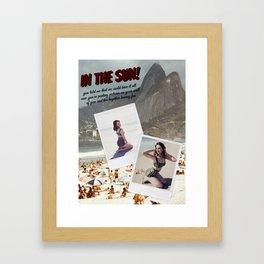 "Del Rey ""In The Sun!"" Framed Art Print"