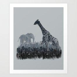 The Tall Grass Art Print