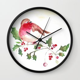 the Little Red Bird Wall Clock