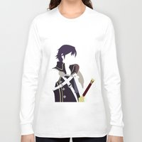 fire emblem Long Sleeve T-shirts featuring Chrom Fire Emblem Awakening by MKwon