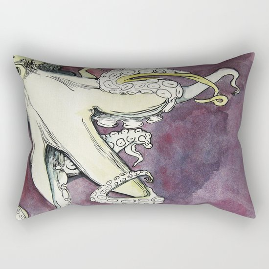 The Octopus -  Rectangular Pillow