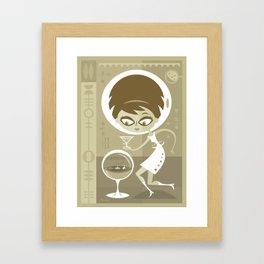 After Eight Framed Art Print
