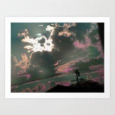 Someday in the Sky Art Print