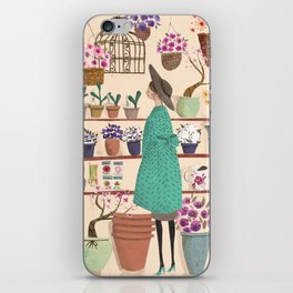 The Flower Shop iPhone Skin