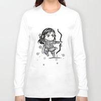 kili Long Sleeve T-shirts featuring Kili Chibi by KuroCyou