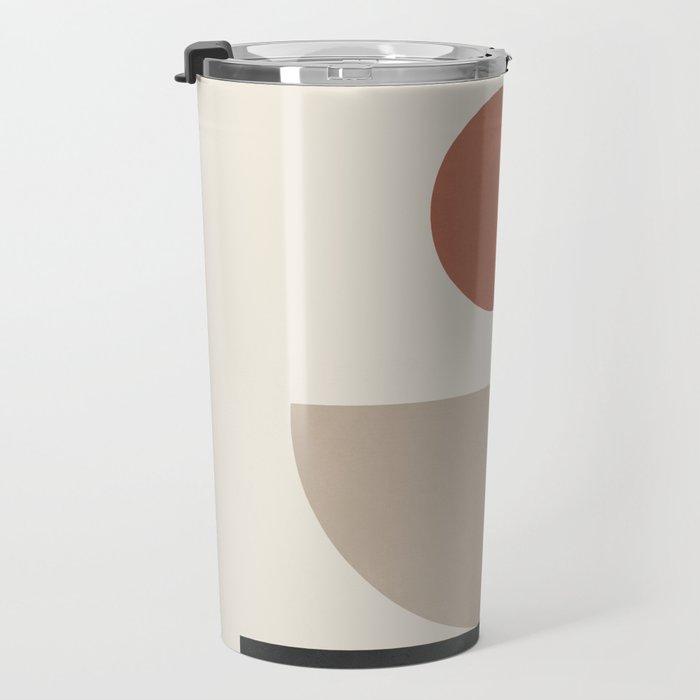 Geometric Modern Art 30 Travel Mug