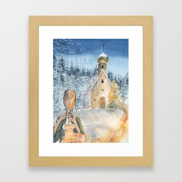 Peace II Framed Art Print