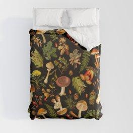Vintage & Shabby Chic - Autumn Harvest Black Duvet Cover