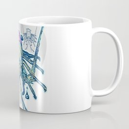 Green Lobster Coffee Mug