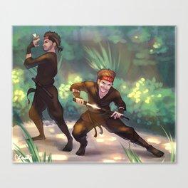 Ninja Zouis Canvas Print