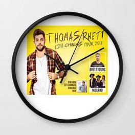 Thomas Rhett tour 2018 Wall Clock