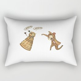 Doctor Who: Mercy! Rectangular Pillow