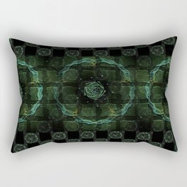 Mysic Circles Rectangular Pillow