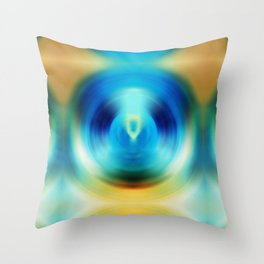 Open Spirit - Energy Art By Sharon Cummings Throw Pillow