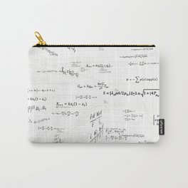 Mathspace - High Math Inspiration - Inverted Color Carry-All Pouch