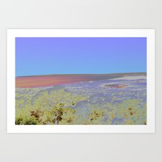 Chromascape 5: Formentera Art Print