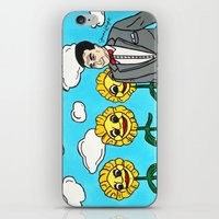 pee wee iPhone & iPod Skins featuring Pee Wee's Playhouse by Jaime Knight Art
