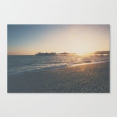perfect light ... Canvas Print