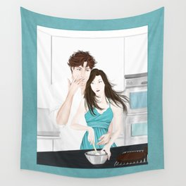 snack attack Wall Tapestry