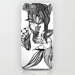 Kelpie Horse iPhone Case