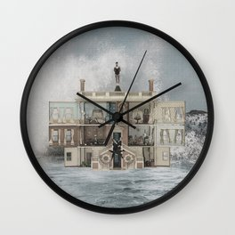 Lapses in Judgement Wall Clock
