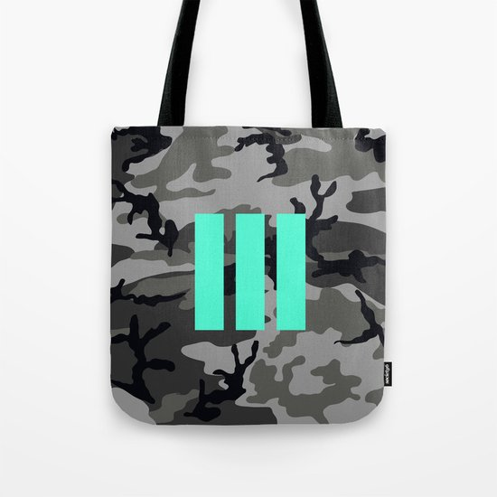 Military - Camouflage Tote Bag