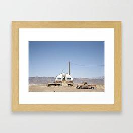 We Wash Arizona desert Framed Art Print