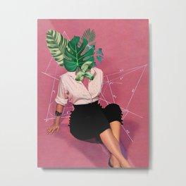 I leaf you Metal Print