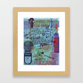 Unitree One Framed Art Print