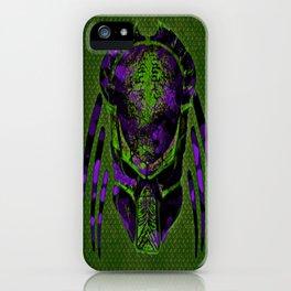 Soldier Predator Green Purple iPhone Case