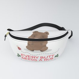 pig for people who like pigs  Fanny Pack