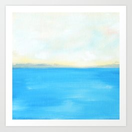 Waiting for the Sun, #5 Art Print