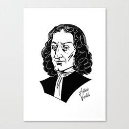 Antonio Vivaldi Canvas Print