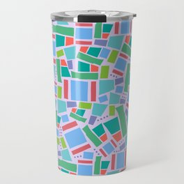 Shapes of Hackney - four sides Travel Mug