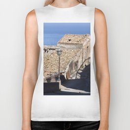 "Old Abandoned Farmhouse - Sicily - ""Vacancy"" zine  Biker Tank"