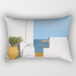 Postcards from Paradise Rectangular Pillow