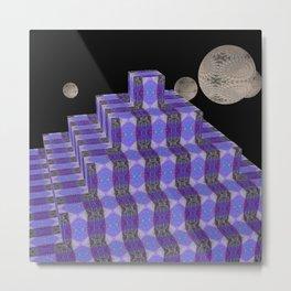 Pyramide Grotesque 4 Metal Print