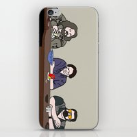 the big lebowski iPhone & iPod Skins featuring The Big Lebowski by Josh Ross Illustration