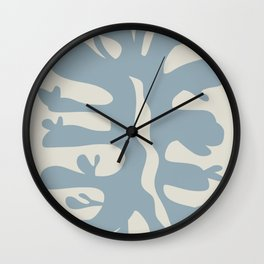 Leaf plant cut out Wall Clock