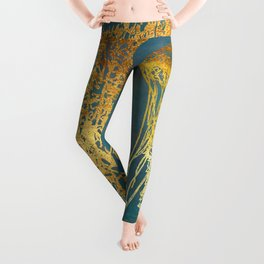 Deep Sea Life Jellyfish Leggings