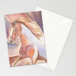 Fire Sunrise Wild Horse Stationery Cards