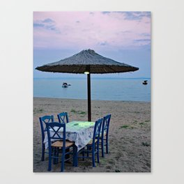This is life!! Canvas Print