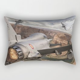 You can run but you can´t hide Rectangular Pillow